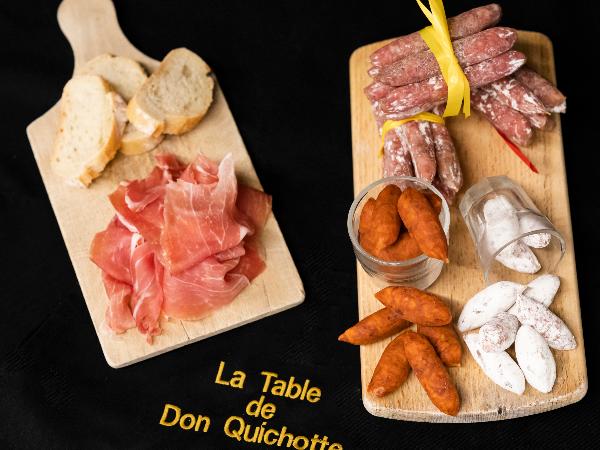 Panches charcuteries à commander / La Table de Don Quichotte - ©Jessica Calvo